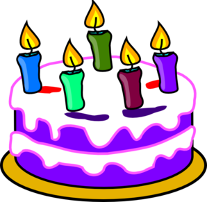 Birthday Cake Clip Art 21