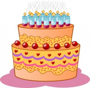 Birthday Cake Clip Art 4 300×294