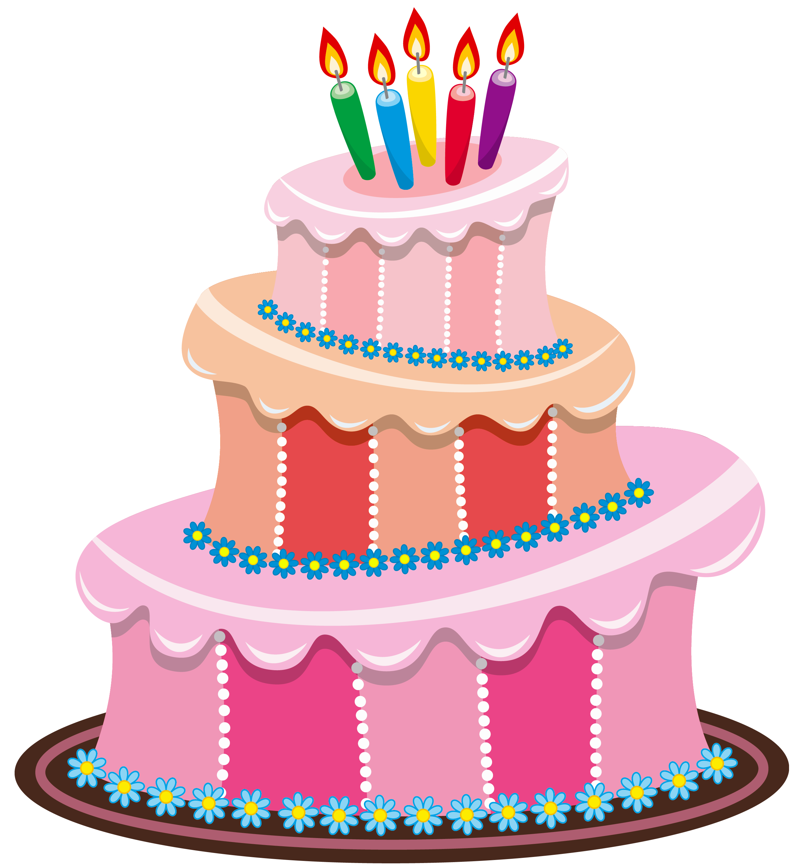 Birthday Cake Clip Art 5