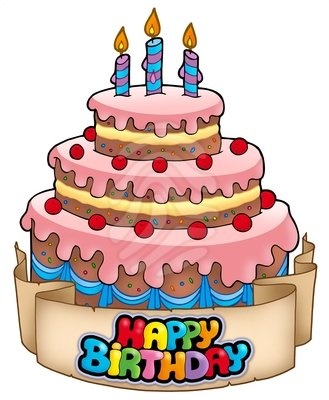 Birthday Cake Clip Art 71
