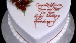 Birthday Cake In Heart Shape Wallpaper 7 300×300