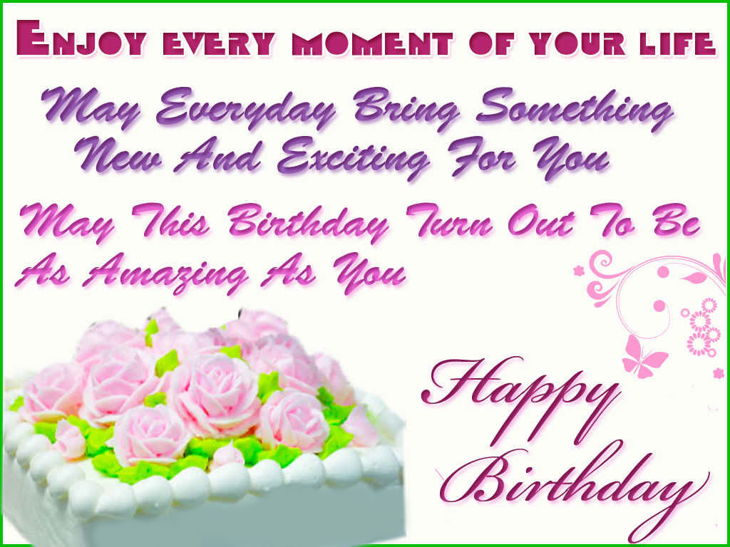 Birthday Cake Wallpaper With Quotes 7