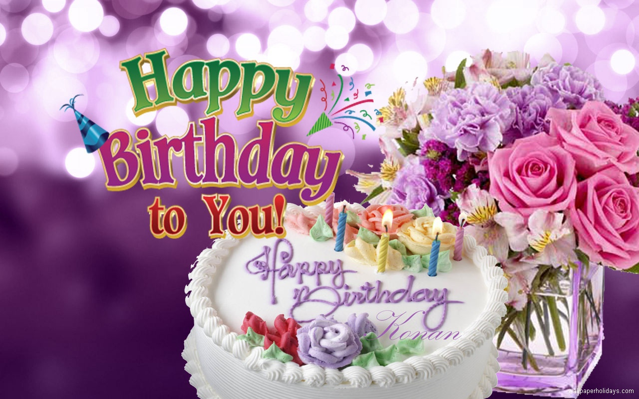 Download Preety Gallery of Birthday Flowers Pictures