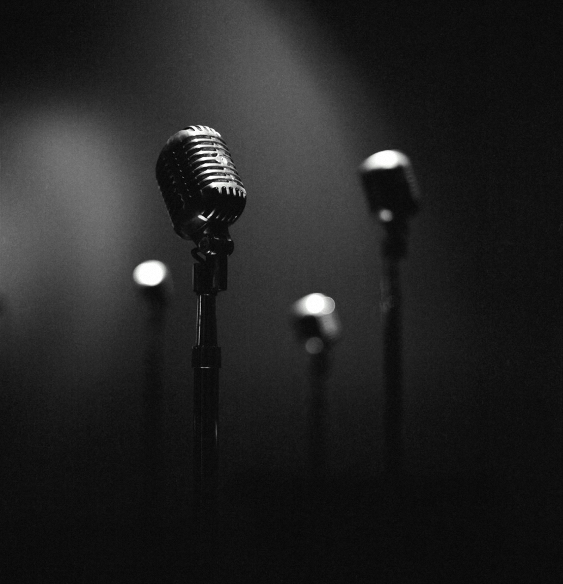 Black And White Microphone Photography 4