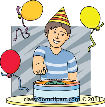 Boy Birthday Clip Art 1