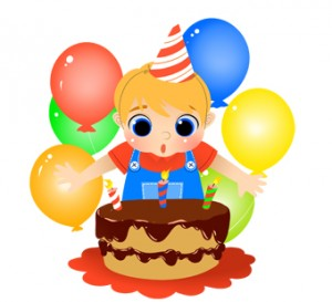 Boy Birthday Clip Art 3 300×273