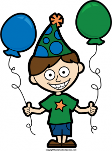 Boy Birthday Clip Art 4 223×300