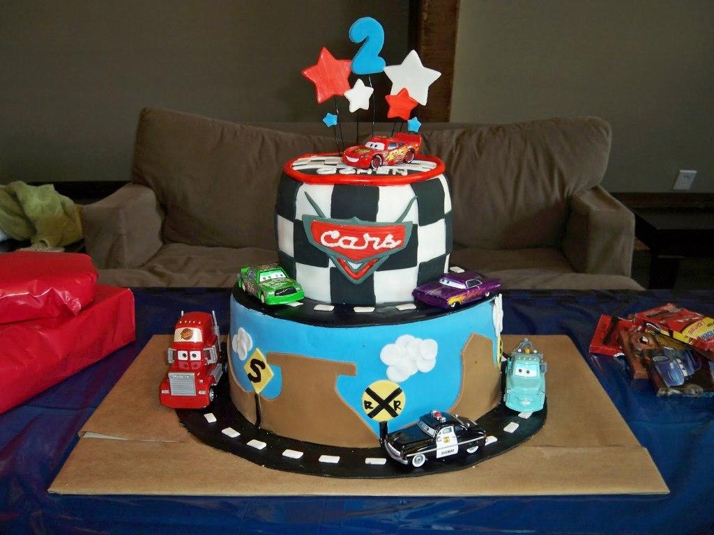 Cars Birthday Cake 5