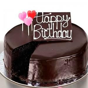 Chocolate Birthday Cake For Girls 3 300×300
