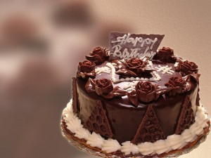 Chocolate Birthday Cake Wallpapers 7 300×225
