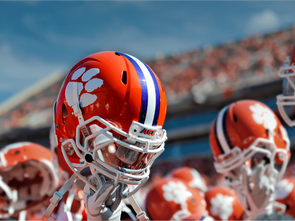 pics photos clemson tigers football helmet wallpapers