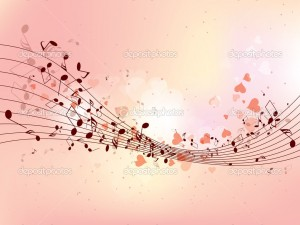 Colorful Music Note Background Designs 1 300×225