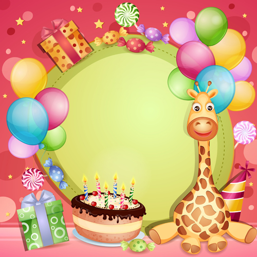 Cute Happy Birthday Card Designs 24