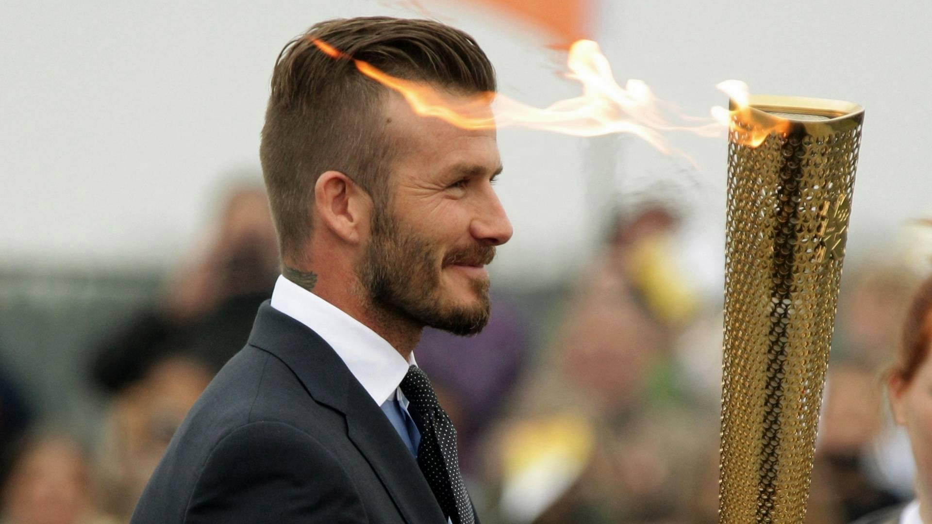 David Beckham Haircut 2013 Back David Beckham 2013 Hairstyle