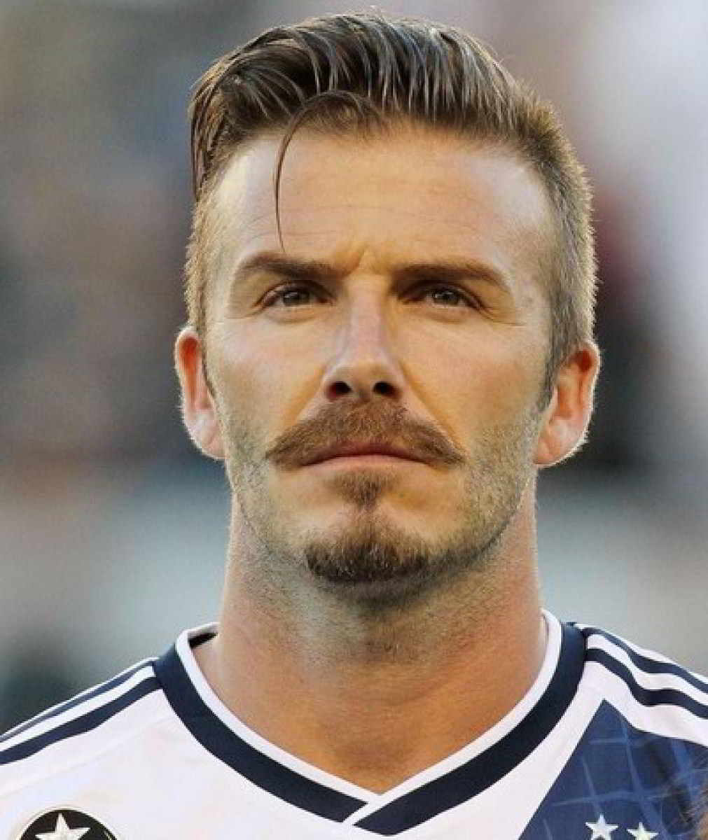 Picture of david beckham slick back undercut hair short - David beckham ...