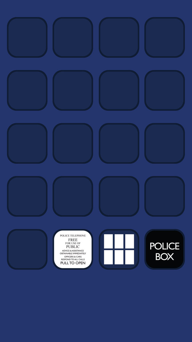 Doctor Who Tardis Wallpaper Iphone 7