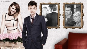 Doctor Who Wallpaper David Tennant Billie Piper 6 300×169