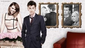 Doctor Who Wallpaper David Tennant Billie Piper 6 300×169