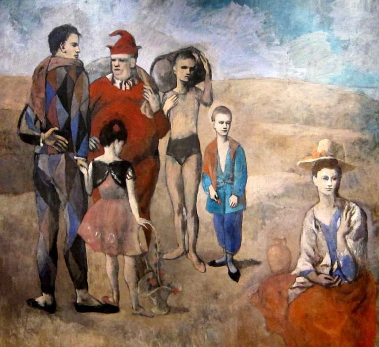 Family of Saltimbanques 768×704
