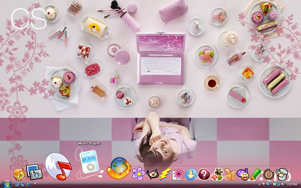 Fashionable Girly Wallpapers For Pc 2