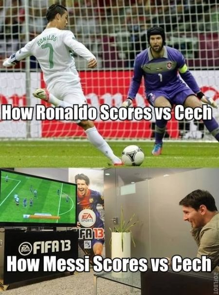 Funny Football Pictures Messi 6