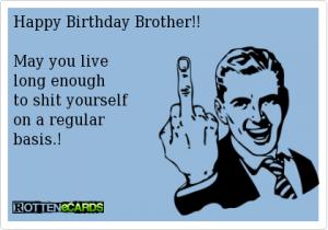 Funny Happy Birthday Brother Ecards 1 300×210