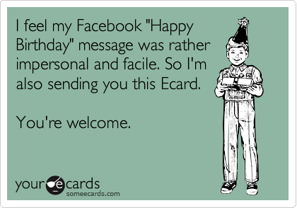 Funny Happy Birthday Wishes For Facebook 4