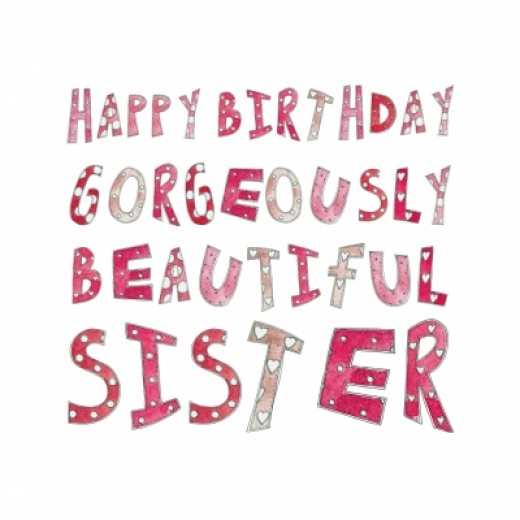 Funny Happy Birthday Wishes For Sister 12