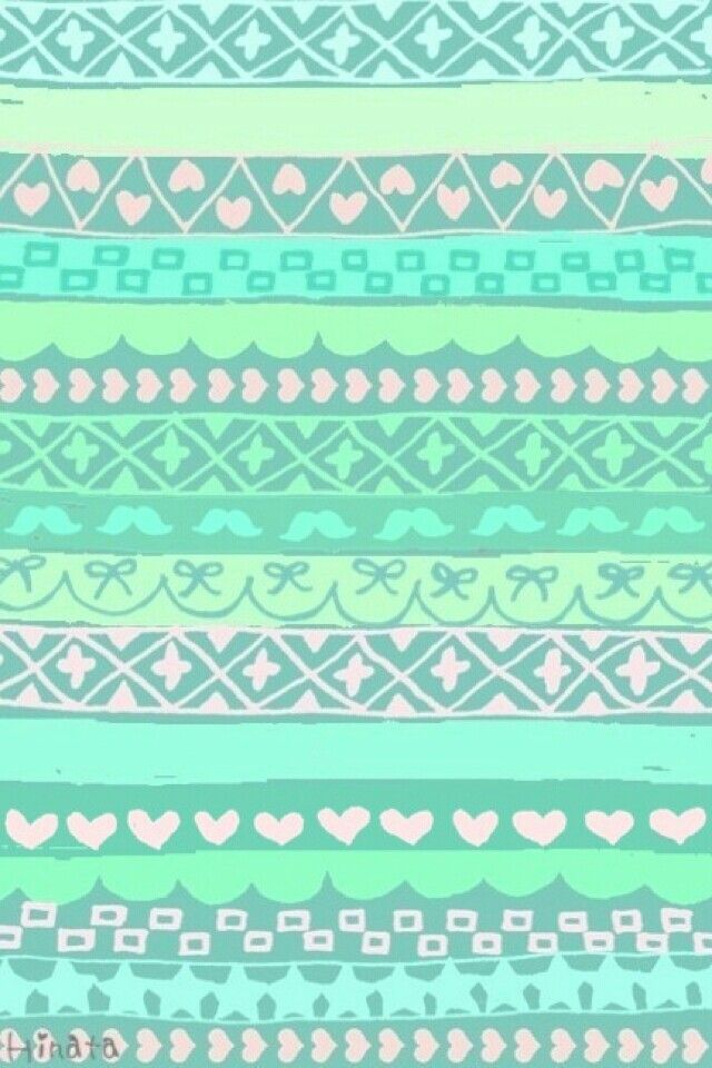 Girly Green Iphone Wallpaper 3