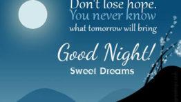 Good Night Sweet Dreams My Friends 4
