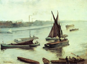 Grey and Silver Old Battersea Reach 300×223