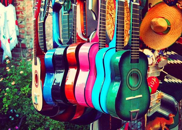 Guitar Music Photography 1