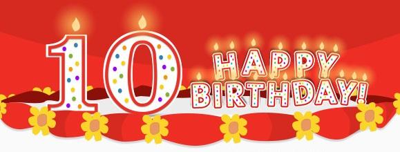 Happy 10th Birthday 23