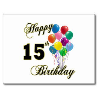 Happy 15th Birthday 14