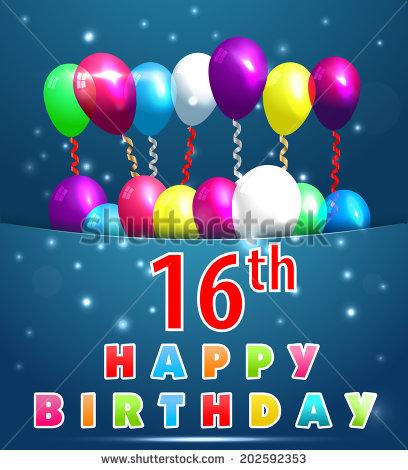 Happy 16th Birthday 3