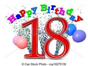 Happy 18th Birthday 20 300×225