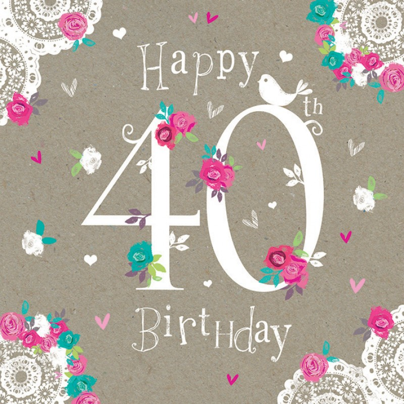 Pictures For 40th Birthday