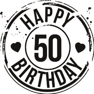 Happy 50th Birthday 26