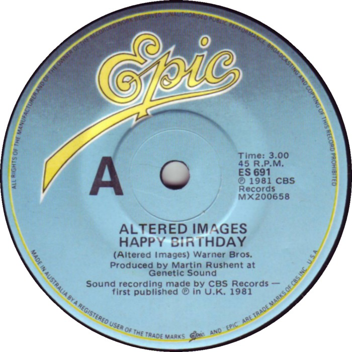 Happy Birthday Altered Images 7