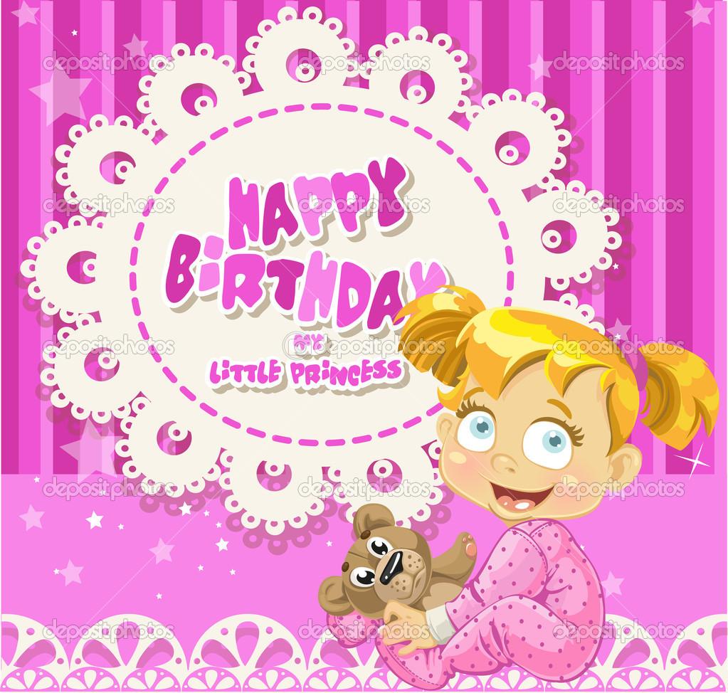 Happy Birthday Baby Girl 9