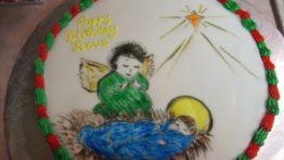 Happy Birthday Baby Jesus Cake 9