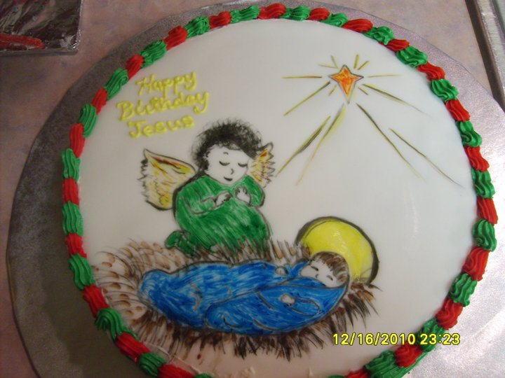 Happy Birthday Baby Jesus Cake 9