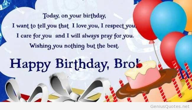 Happy Birthday Brother 5