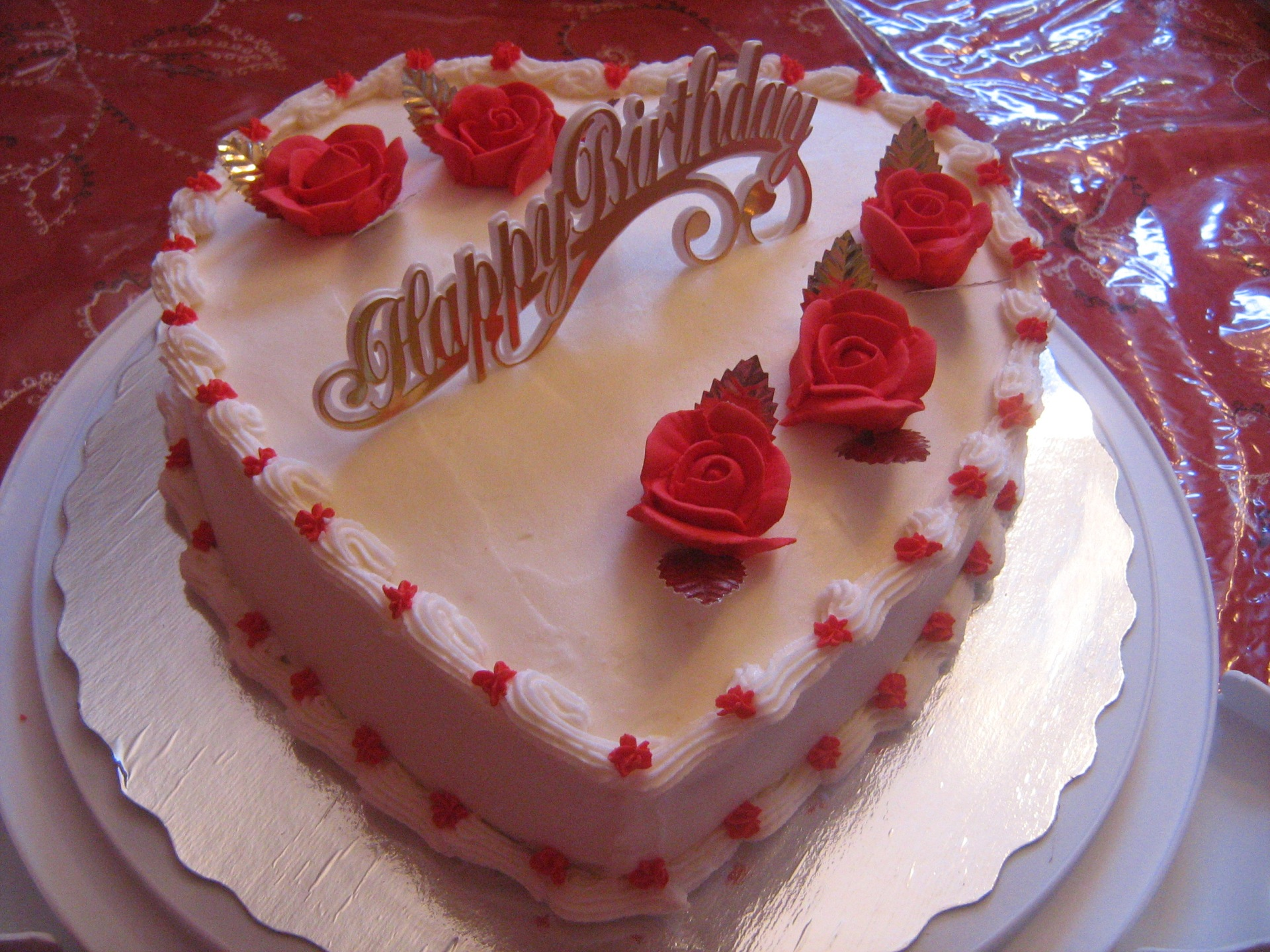 Birthday Cake Designs Love : Pin Love 3 Cake on Pinterest