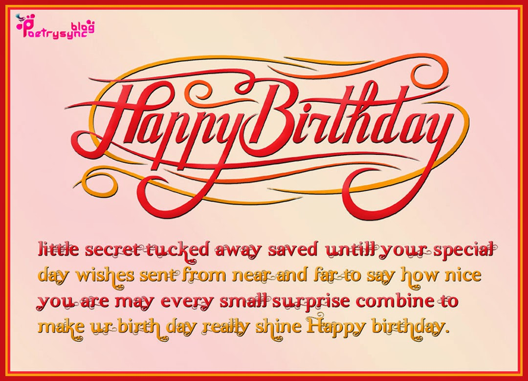Happy Birthday Messages Cards Happy Birthday Card Messages