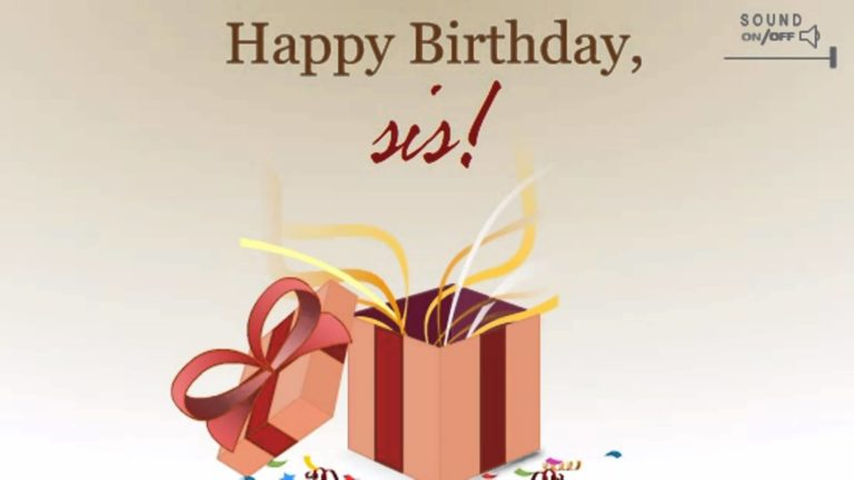 Happy Birthday Card Messages For Sister 21 768×432