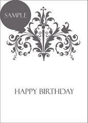 Happy Birthday Cards To Print Black And White 17