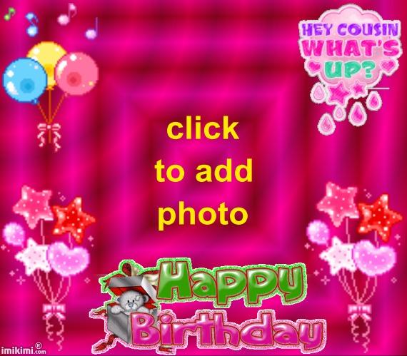 Happy Birthday Cousin Animated Video