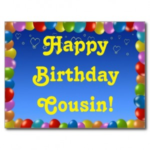 Happy Birthday Cousin 23 300×300