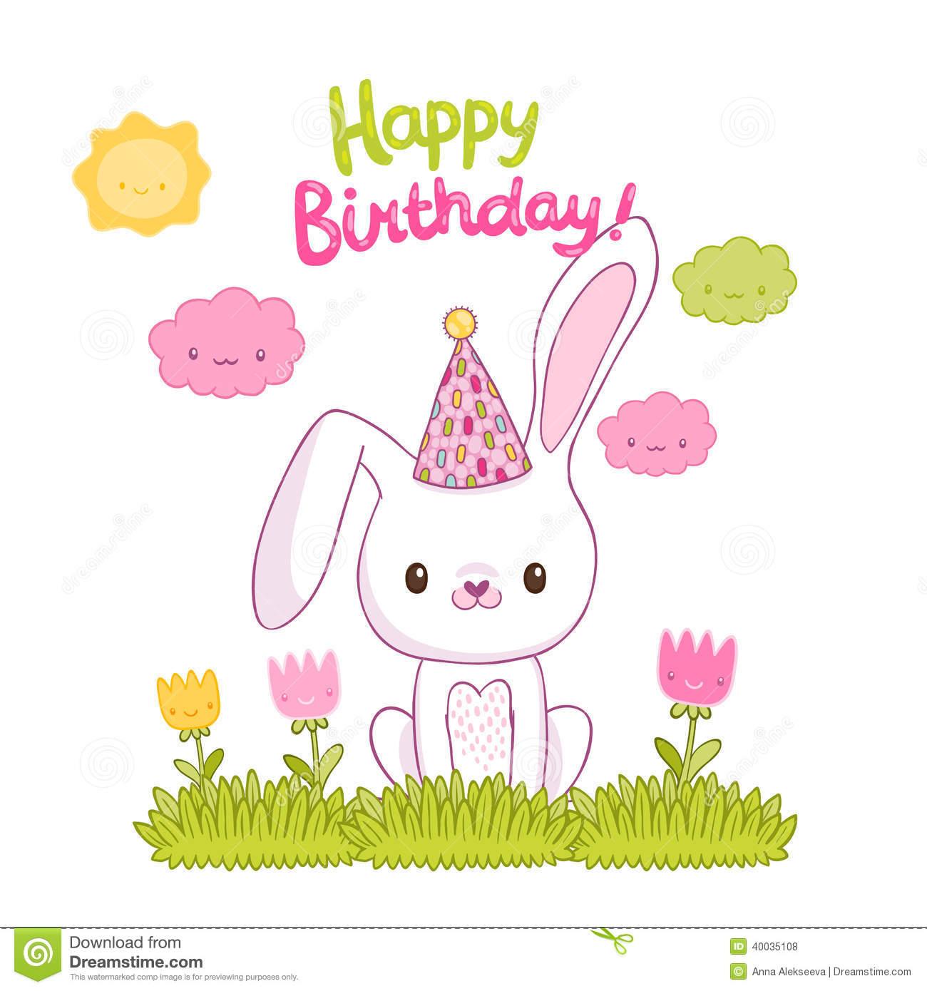 Happy Birthday Cute Bunny 8